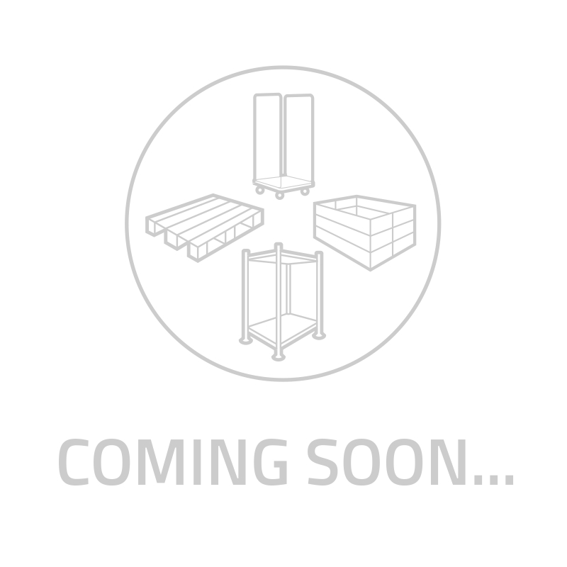 bac plastique e2 gerbable norme euro pour la viande 64522 600x400 mm rotom. Black Bedroom Furniture Sets. Home Design Ideas