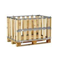 Réhausse bois 1200x800x700 mm - 1/2 côté rabattable