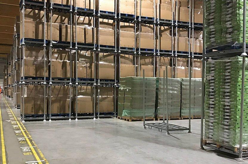 Gérez chaque mètre carré d'espace de stockage avec un système de rayonnage mobile
