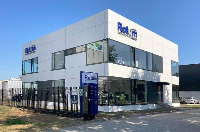 Nouveaux bureaux aux Pays Bas pour le groupe Rotom