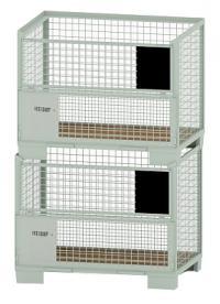 La location de caisse-palette grillagée : générateur de pure profit